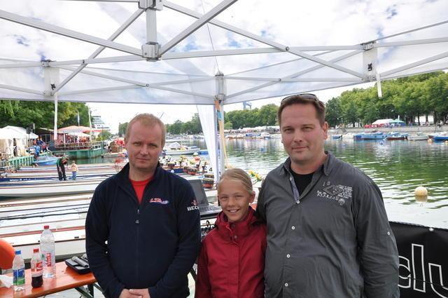 Toralf Bumann (l.), Geschäftsführer vom LT-Club, organisiert seit vielen Jahren das Drachenbootfestival.